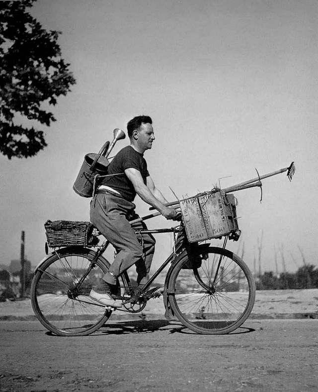 DOISNEAU - Le roi soleil a bicyclette - 1943
