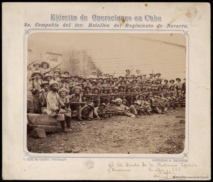 Ejército de operaciones en Cuba. Ruiz de Castro, C. — Fotografía — 1895-1898?