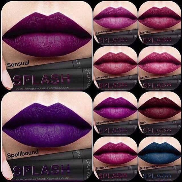 Coming to a Younique Presenter near you! *****October 1st*****Liquid Matte Lipstick...SPLASH...be part of my VIP group