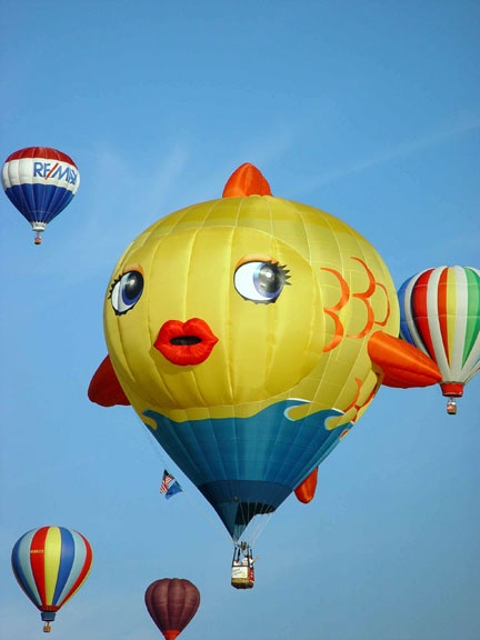 17 best images about full of hot air balloons on for Flying fish balloon