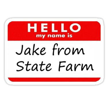 Who Is This? It's Jake From State Farm Halloween costumes! The most original costume idea of the year is the It's Jake From State Farm Halloween costumes.