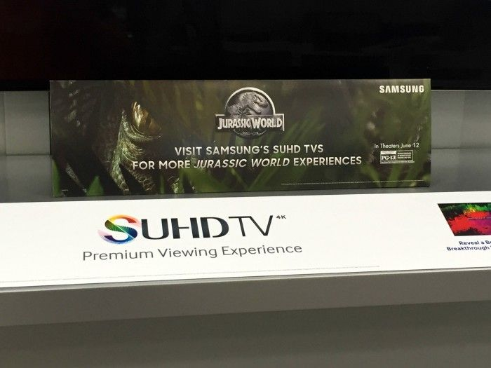 Father's Day Gift Idea: Get a sneak peek at Jurassic World and save up to $1500 on Samsung SUHD TVs!