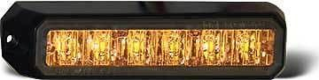 8891500 Strobe Light, 6 LED Amber, 10-24 VDC tow truck, rollback,wrecker