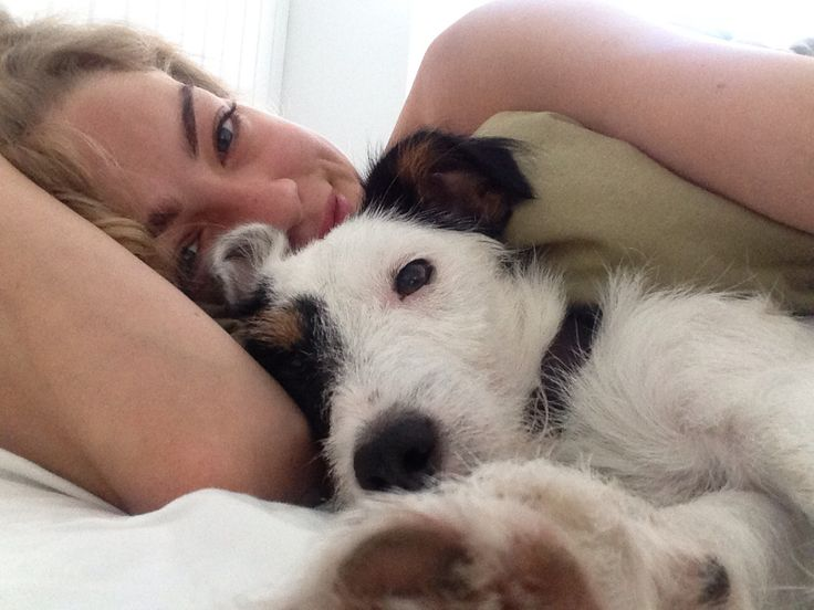 Cuddle in the morning