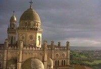 La basilique saint augustin d'Hippone, à Annaba (Algérie)