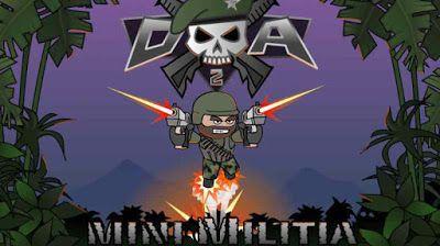 Doodle Army 2 : Mini Militia Mod Apk v2.2.61 Android [Mega Mod]