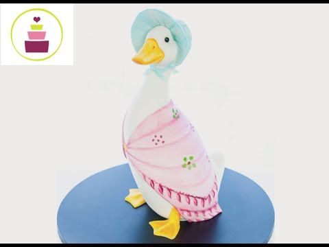 duck wedding cake toppers uk how to make a jemima puddle duck cake 3d cake 13779