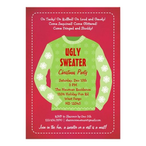 366 best Christmas Party Invitations images on Pinterest Christmas
