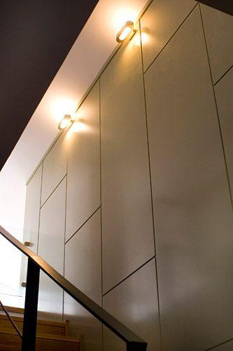 M s de 25 ideas fant sticas sobre escaleras voladas en - Panelado de paredes ...