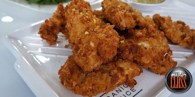 Σνίτσελ κοτόπουλου με τραγανή κρούστα