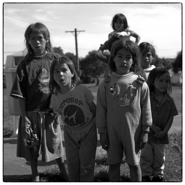 This picture reminds me of my cousins in Huntly,NZ.