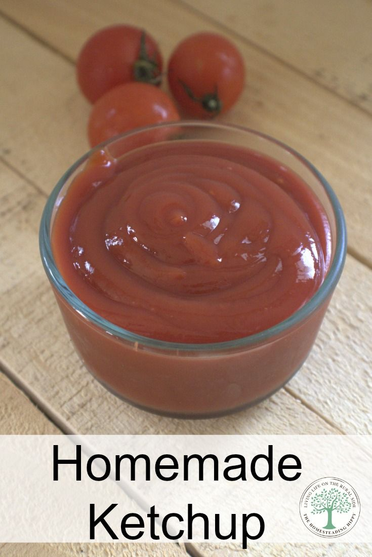 Making your own ketchup at home is so easy and delicious, you'll wonder why you waited so long to do it! Try this lacto-fermented recipe for added health benefits! The Homesteading Hippy via @homesteadhippy