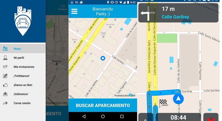 Parkifast, nueva app para encontrar aparcamiento que funciona con gran rapidez y precisión