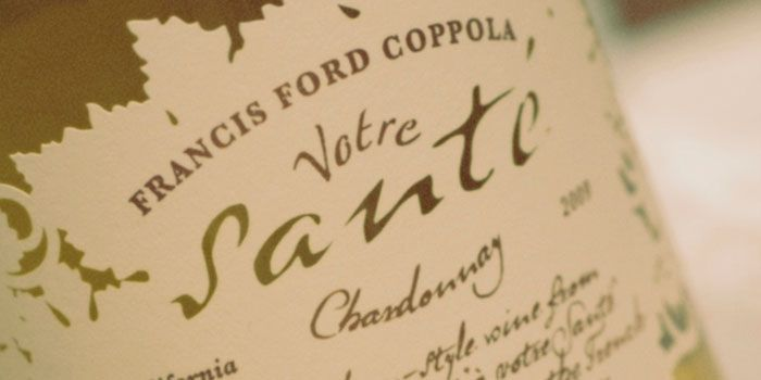 Wine #36 was a 2012 Votre Sante Chardonnay from Francis Ford Coppola. On the nose I got pineapple and citrus and on the palate I got  citrus, pineapple, and toasty vanilla flavors throughout. Very nice wine.