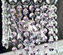 500 м/лот игристое хрусталя гарланд рождественская елка свадебный стол центральные украшения 14 мм восьмиугольника бусины цепь цепь(China (Mainland))