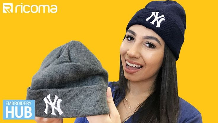 Embroidery Hub Ep. 24: Embroidering Beanies | How to embroider on Knitwe...