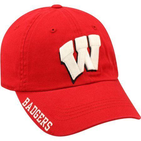 Ncaa Men's Wisconsin Badgers Home Cap, Red