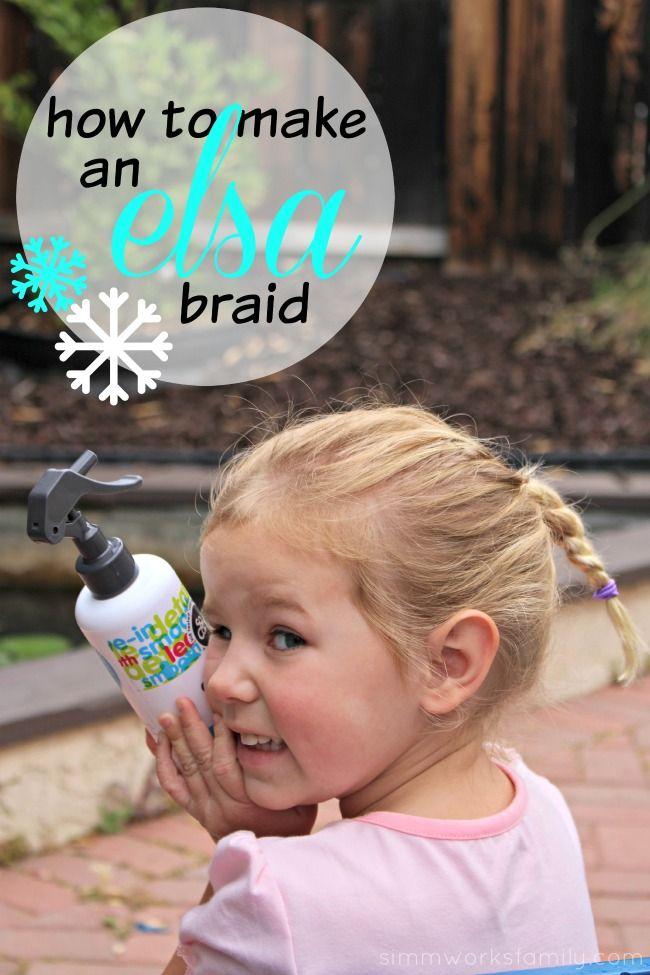 How To Make An Elsa Braid A Simple DIY Tutorial Elsa Braid