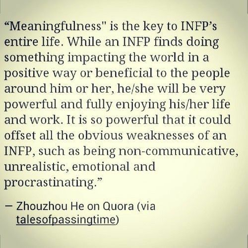 Pin by TaterTot on INFP | Infp personality type, Infp, Infp