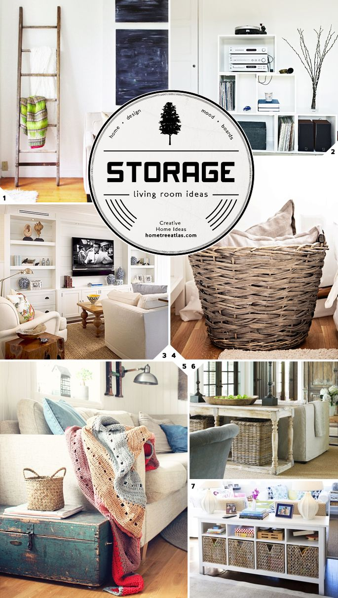 41 Best Storage Ideas Images On Pinterest Living Room Organization Ideas And Organizing Ideas