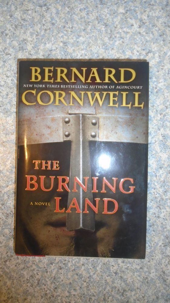 "Bernard Cornwell ""The Burning Land Warrior Chronicles"" Hardback with dust cover"