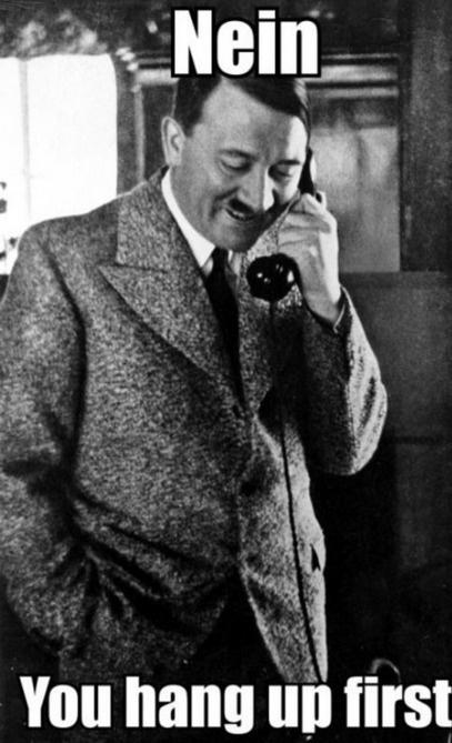 Hitler jokes never get old