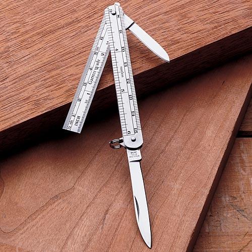 Garrett Wade | Combination Knife & Precision Rule