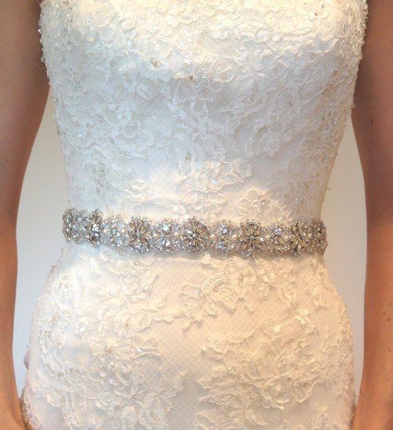 Mejores 98 imágenes de Cinturones y apliques novias en Pinterest ...