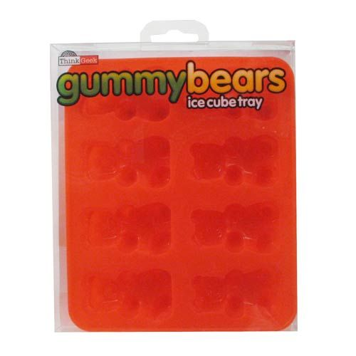Gummy Bear Silicone Ice Cube Tray - Think Geek - Candy - Barware at Entertainment Earth