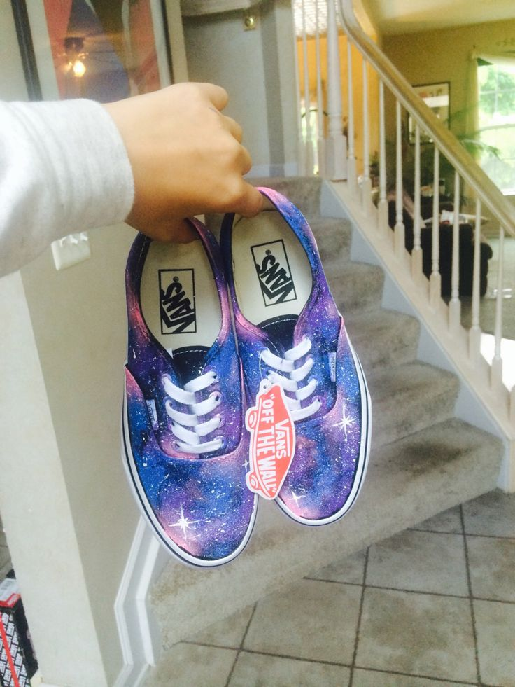 Pink Galaxy Vans by 816Creations on Etsy https://www.etsy.com/listing/196980343/pink-galaxy-vans