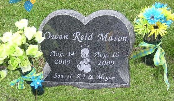 Child/Infant Grave Markers 76214