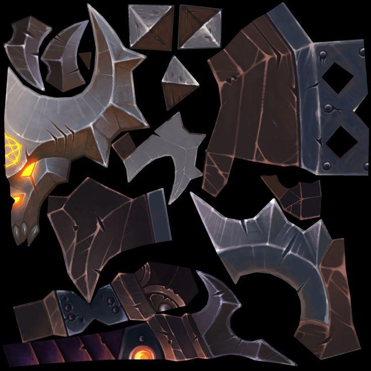 ArtStation - WoW Monster Mace Fan Art, vlad ost