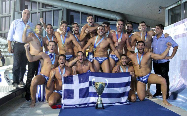 Πήραμε το χρυσό! Παγκόσμια πρωταθλήτρια η Ελλάδα στο Πόλο Νέων Ανδρών-Φωτορεπορτάζ