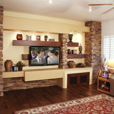 20 best Media Wall images on Pinterest Wall design Fireplace