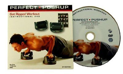 Perfect PUSHUP Get Ripped Workout - Instructional DVD