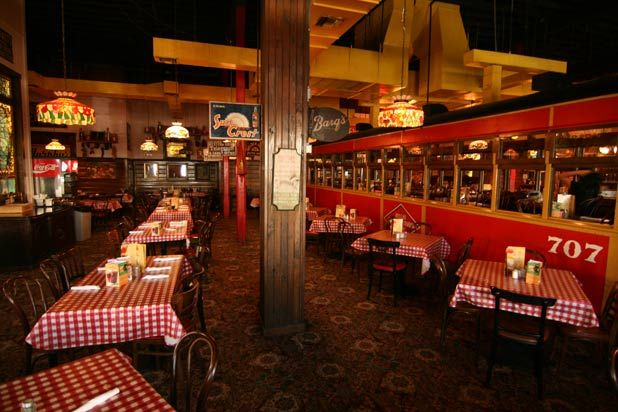 America's 12 Best Italian Restaurant Chains.  I did not know that The Spaghetti Warehouse was a chain.  I thought the one in my town was the only one!