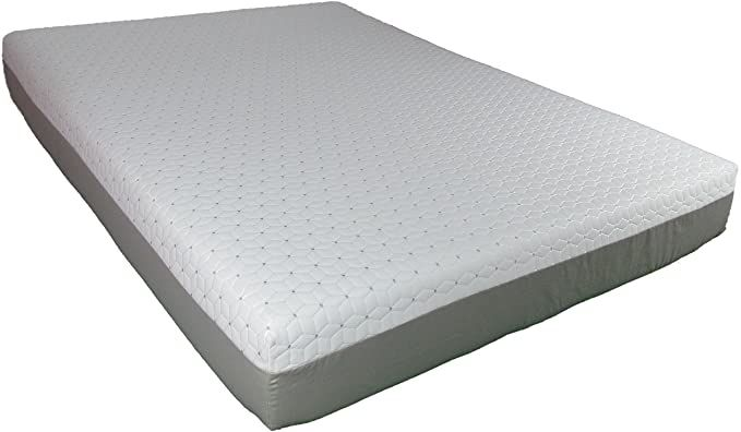Travel Happy Made In The Usa 10 Quot Short Queen Cool Sleep Gel Memory Foam Mattress With Premium In 2020 Memory Foam Mattress Gel Memory Foam Mattress Foam Mattress