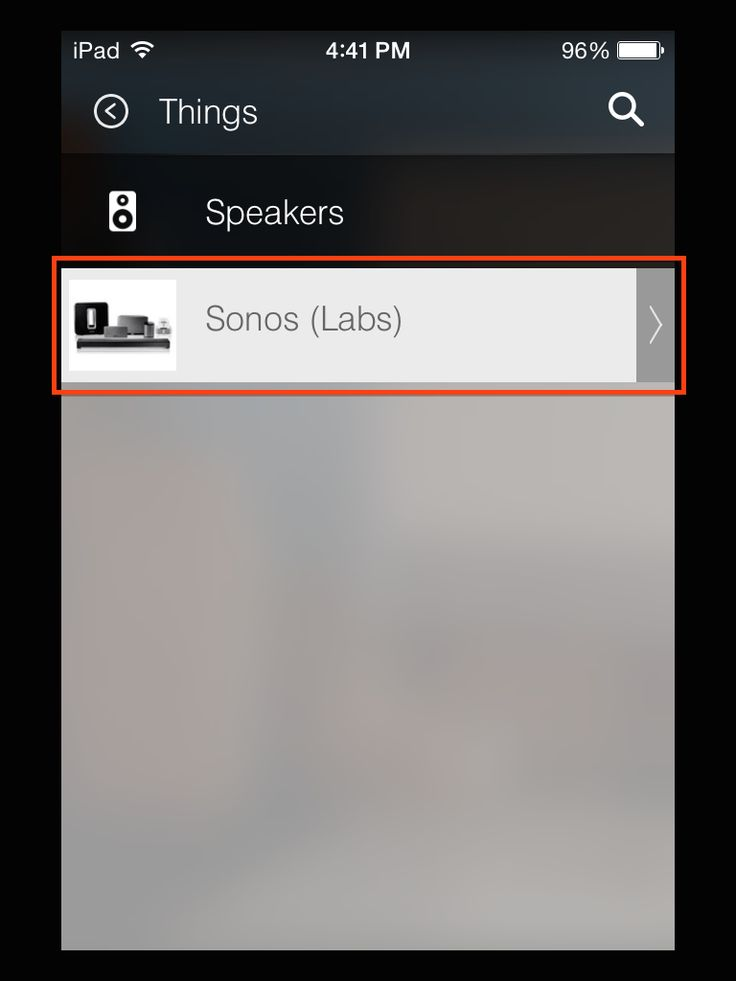 SETUP: Connecting Sonos to SmartThings – SmartThings Customer Support