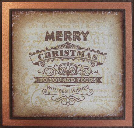 Stamp-it Australia: 4992E Christmas Design, siset116 Background - Card by Maria