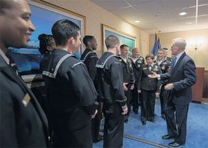 Navy recruiting command honors top recruiters - The Flagship: Quarterdeck