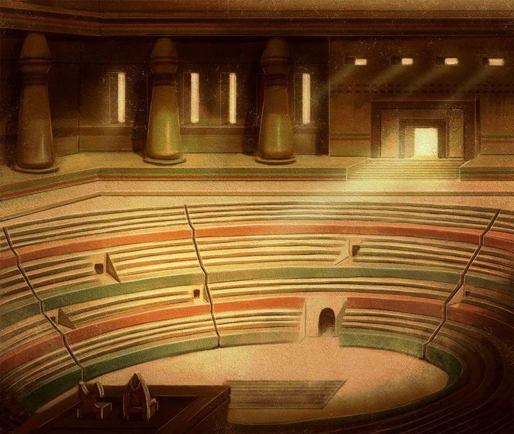 ArtStation - Eternal Arena, Francesco Di Pastena