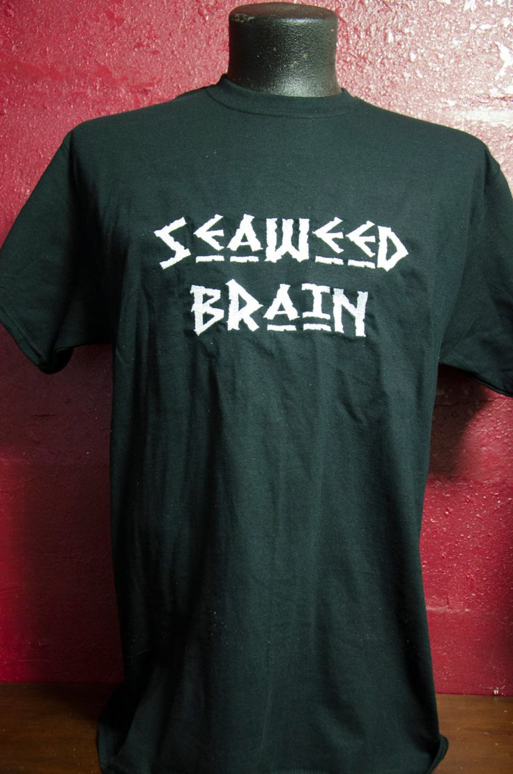 "Camp Half-Blood Shirt, Men's Adult T-Shirt, ""Seaweed Brain"" Percy Jackson/ Annabeth Chase Ship/Bride and Groom inspired shirt by TheElliottsCloset on Etsy"