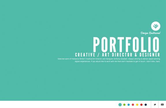Portfolio creatif pour votre inspiration
