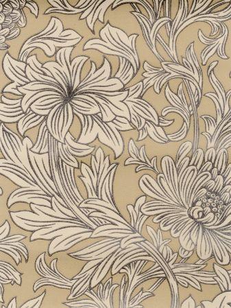 Morris & Co - Morris & Co Collection - William Morris Chrysanthemum Toile (DMOWCH103) - Select Wallpaper | Designer Wallpapers Direct & Discount Wallcoverings UK