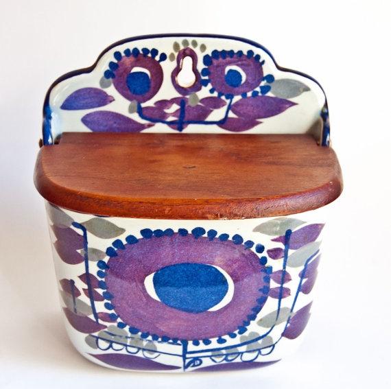 Vintage Royal Copenhagen Tenera - Salt Box - Kari Christensen - Danish Design 1960s