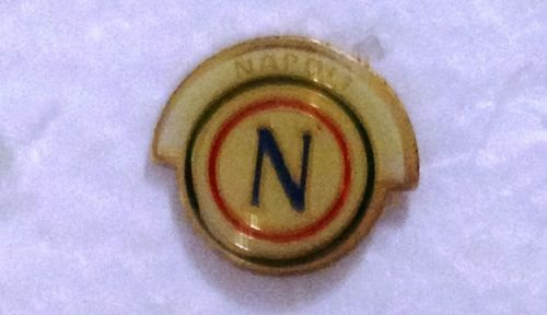 spilla pins ultras NAPOLI Badge rara collezione ANNI 80 VINTAGE CURVA A B