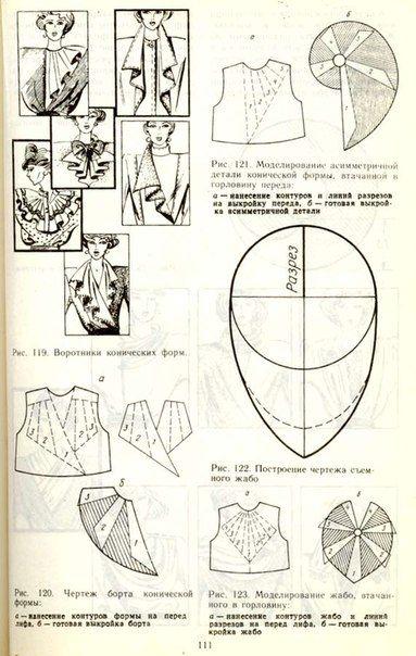 1980s collar patterns VOLNATES DISEÑOS