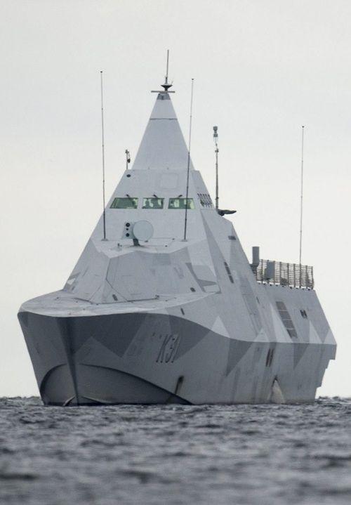 sucorsdaum: corvette suédoise HMS Visby