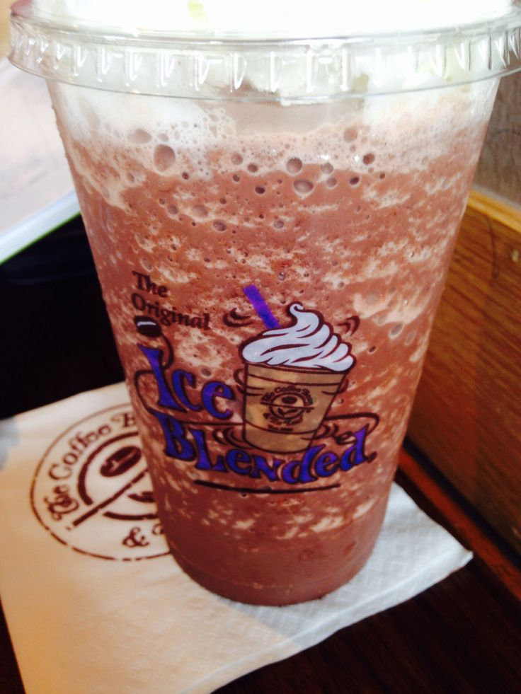 Pure Double Chocolate Ice Blended At Coffee Bean Tea Leaf Probably My Favourite Drink There Tea Leaves Favorite Drinks Pure Products