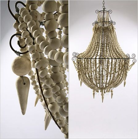 Clay Beads Chandelier